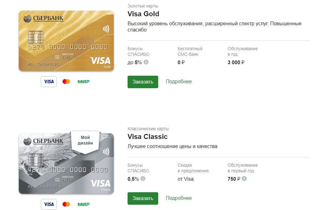 Visa Gold Classic